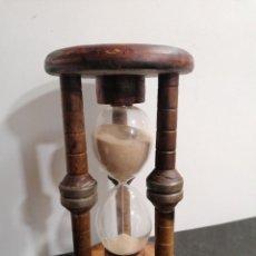 Relojes de carga manual: ANTIGUO RELOJ DE ARENA GRANDE. Lote 235717440