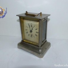 Relojes de carga manual: ,RELOJ DE CARRUAJE,,,ALARMA MAQUINA MUSICAL,,,. Lote 236681980