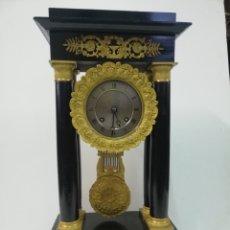 Relojes de carga manual: RELOJ SOBREMESA ANTIGUO RESTAURADO. Lote 237536015