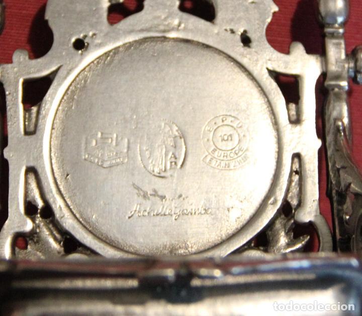 Relojes de carga manual: ANTIGUO SOPORTE EXPOSITOR PARA RELOJ DE BOLSILLO - RELOJERA - ACHILLE GAMBA - Foto 7 - 237566540