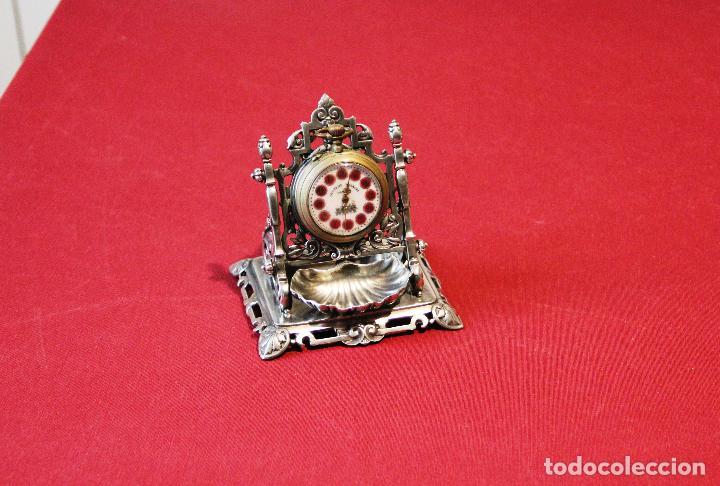 Relojes de carga manual: ANTIGUO SOPORTE EXPOSITOR PARA RELOJ DE BOLSILLO - RELOJERA - ACHILLE GAMBA - Foto 10 - 237566540