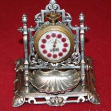 Relojes de carga manual: ANTIGUO SOPORTE EXPOSITOR PARA RELOJ DE BOLSILLO - RELOJERA - ACHILLE GAMBA. Lote 237566540