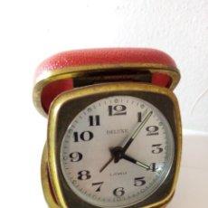 Relojes de carga manual: RELOJ DE SOBREMESA DE VIAJE DELUXE GERMANY. Lote 237876935