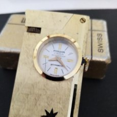Relojes de carga manual: RELOJ MECHERO DE SOBREMESA FOSKA SWISS MADE. Lote 238063970
