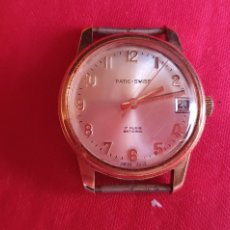 Relojes de carga manual: RELOJ PATIC-SWISS 17 RUBIS ANTICHOC FUNCIONA.MIDE 33 MM DIAMETRO. Lote 240011830