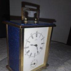 Relojes de carga manual: RELOJ CARRUAJE SUIZO PONTIFA. Lote 240533510