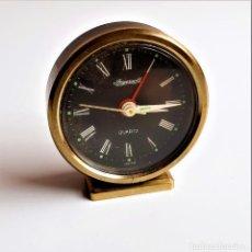 Orologi di carica manuale: RELOJ INGERSOLL DESPERTADOR PEQUEÑO DE 6.CM ALTO. Lote 241090180