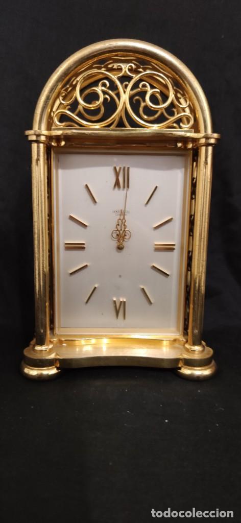 PRECIOSO ANGELUS DE CARRILLON, ES UNA PIEZA DE COLECCION FANTASTICA, FUNCIONANDO. (Relojes - Sobremesa Carga Manual)
