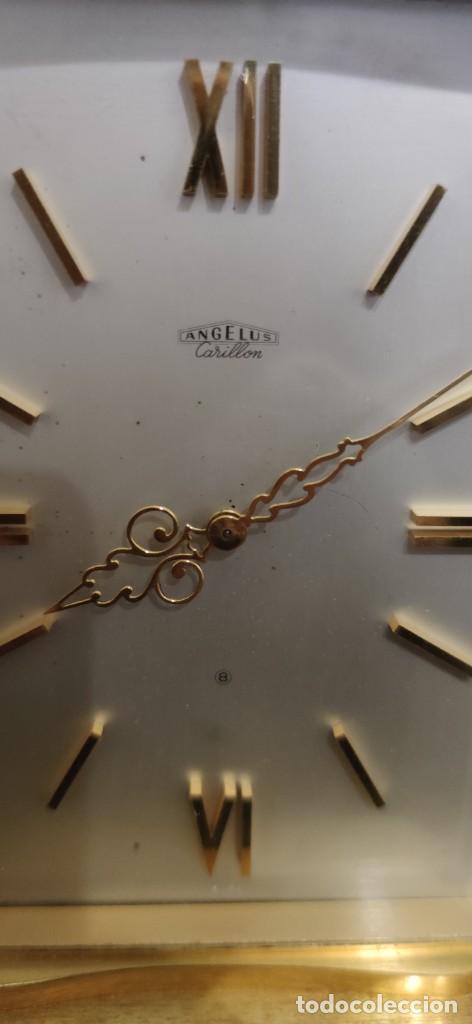 Relojes de carga manual: PRECIOSO ANGELUS DE CARRILLON, ES UNA PIEZA DE COLECCION FANTASTICA, FUNCIONANDO. - Foto 15 - 243256085