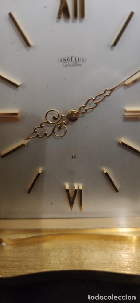 Relojes de carga manual: PRECIOSO ANGELUS DE CARRILLON, ES UNA PIEZA DE COLECCION FANTASTICA, FUNCIONANDO. - Foto 17 - 243256085
