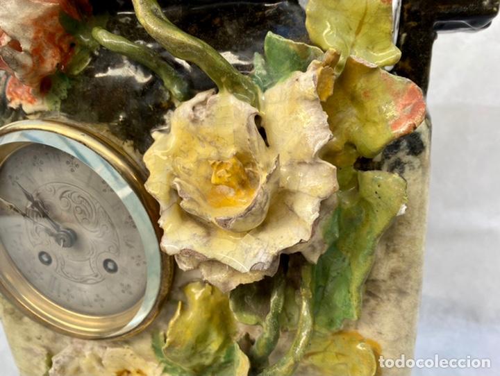 Relojes de carga manual: HYMARC. Reloj Henry Marc francés de cerámica antiguo S. XIX - Foto 12 - 243496300