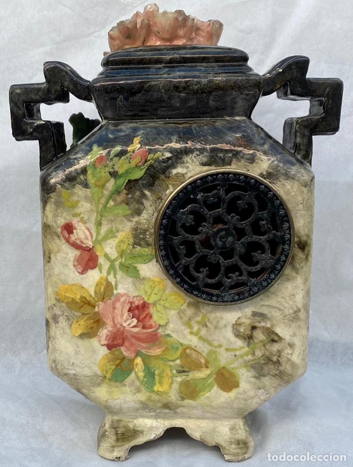 Relojes de carga manual: HYMARC. Reloj Henry Marc francés de cerámica antiguo S. XIX - Foto 15 - 243496300