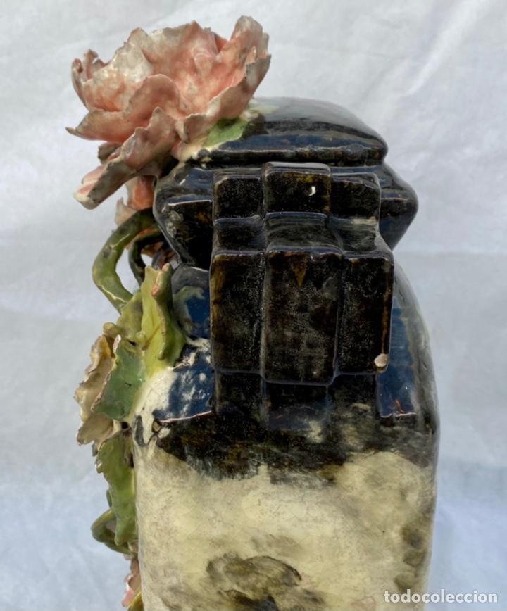 Relojes de carga manual: HYMARC. Reloj Henry Marc francés de cerámica antiguo S. XIX - Foto 27 - 243496300