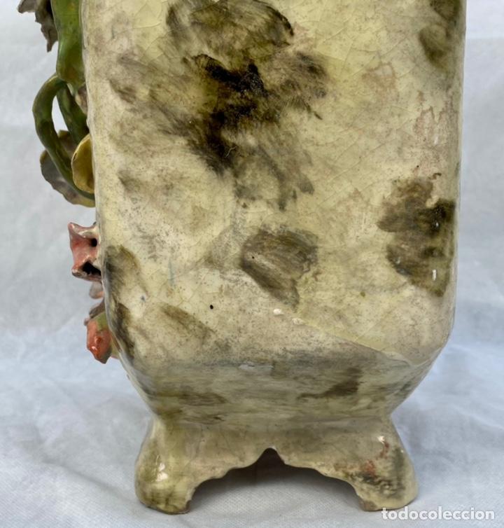 Relojes de carga manual: HYMARC. Reloj Henry Marc francés de cerámica antiguo S. XIX - Foto 28 - 243496300