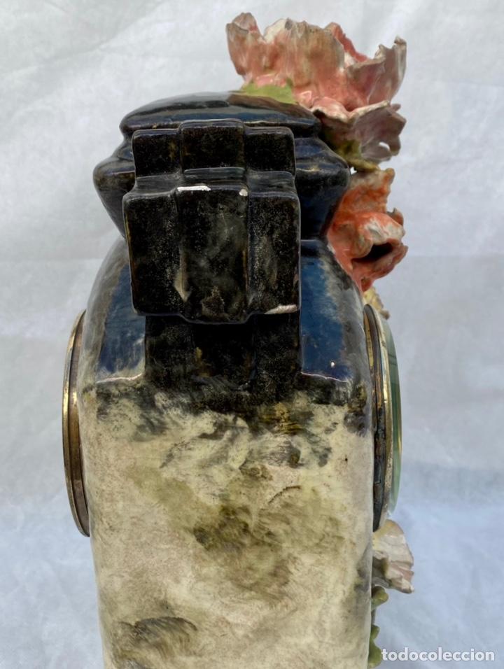 Relojes de carga manual: HYMARC. Reloj Henry Marc francés de cerámica antiguo S. XIX - Foto 30 - 243496300