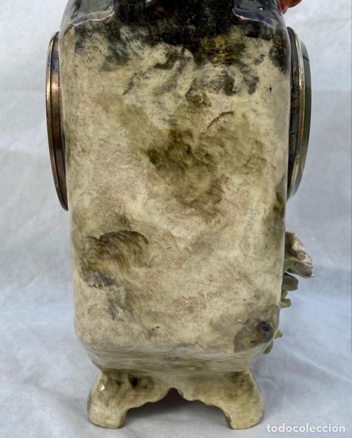Relojes de carga manual: HYMARC. Reloj Henry Marc francés de cerámica antiguo S. XIX - Foto 31 - 243496300