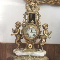 Relojes de carga manual: RELÓGIO IMPERIAL DE BRONZE DE FRANZ HERMLE. Lote 243577355