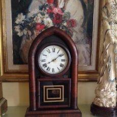 Relojes de carga manual: RELOJ AMERICANO. WATERBURY CLOCK CO. (BEEHIVE). 1867-1881.10 DIAS. FUNCIONA PERFECTAMENTE. Lote 242181670