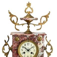 Relojes de carga manual: MAGNIFICO RELOJ ANTIGUO DE SOBREMESA DE ORIGEN FRANCÉS Y FUNCIONANDO. Lote 243901840