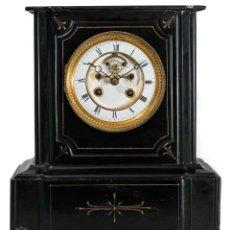 Relojes de carga manual: MAGNIFICO RELOJ DE SOBREMESA ANTIGUO, DE ORIGEN FRANCES Y FUNCIONANDO. Lote 243903880