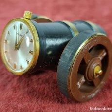 Relojes de carga manual: RELOJ DE SOBREMESA FEREX. FORMA DE CAÑÓN. SUIZA. SIGLO XX.. Lote 244475705