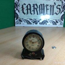 Relojes de carga manual: ANTIGUO RELOJ DESPERTADOR MUSICAL, MUY RARO, Y BONITO. Lote 244698650