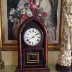 Relojes de carga manual: RELOJ AMERICANO. WATERBURY CLOCK CO. (BEEHIVE). 1867-1881.. FUNCIONA PERFECTAMENTE. Lote 248033840