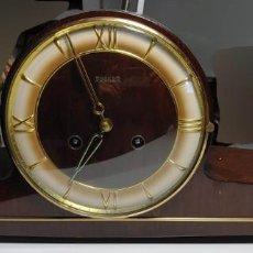 Relojes de carga manual: RELOJ SOBREMESA BECKER. FUNCIONANDO.. Lote 248371270