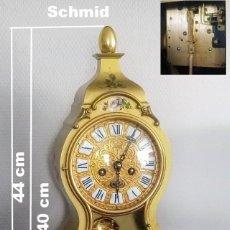 Relojes de carga manual: RELOJ DE CONSOLA, TIPO BOULLE, SCHMID. Lote 251532165