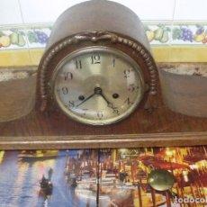 Relógios de carga manual: ¡¡GRAN OFERTA !!!!ANTIGUO RELOJ SOBREMESA-NAPOLEON-AÑO 1920-EN MADERA DE ROBLE. Lote 253013440