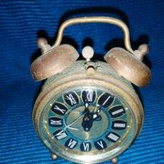 Relojes de carga manual: ANTIGUO RELOJ TRENKLE, DESPERTADOR DE SOBREMESA, MADE IN GERMANY. Lote 253552190