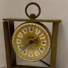Relógios de carga manual: ANTIGUO RELOJ DE SOBREMESA, JACCARD 7 RUBIS FRANCE, PARA RESTAURAR O RECAMBIOS. Lote 253866600