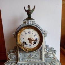 Relojes de carga manual: BONITO Y ANTIGUO RELOJ MAQUINARIA JAPY FRERES MED D'HONNEUR Y PORCELANA, GIEN 18?. Lote 254014545