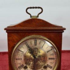Relojes de carga manual: RELOJ DE SOBREMESA. JOHN WARMINK. CAJA DE MADERA. HOLANDA. CIRCA 1930.. Lote 254307025