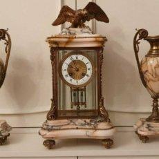 Relojes de carga manual: RELOJ ANTIGUO SOBREMESA. Lote 254843090