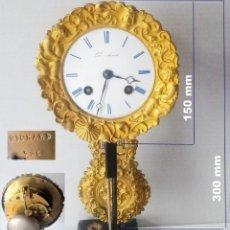 Relojes de carga manual: MAQUINA DE PARIS PARA RELOJ DE COLUMNA / PÓRTICO, MARCA PICKARD, INCORPORADO 140 MM. Lote 254919575