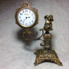 Relojes de carga manual: MUY ANTIGUO RELOJ DE BRONCE - MARCA ROLEX. Lote 254931080