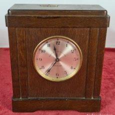Relojes de carga manual: RELOJ. CAJA DE CAUDALES. BANCO VITALICIO DE ESPAÑA. BARCELONA. SIGLO XX.. Lote 256148600
