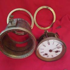 Relojes de carga manual: ANTIGUA MAQUINARIA PARÍS CON PENDULO. Lote 257311390