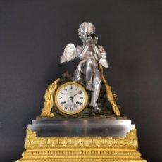 Relojes de carga manual: RELOJ SOBREMESA S XIX BRONCE. Lote 257400200