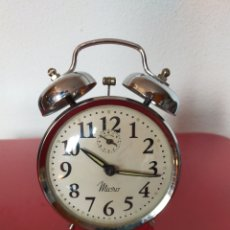 Relojes de carga manual: RELOJ DESPERTADOR MICRO. Lote 257441575