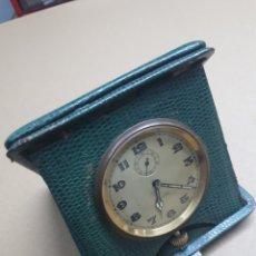 Relojes de carga manual: RELOJ VIAJE. 8 DIAS. FUNCIONA. Lote 257652365