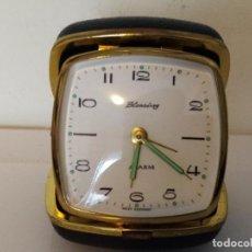Relojes de carga manual: RELOJ DE SOBREMESA DE VIAJE BLESSING. Lote 257695860