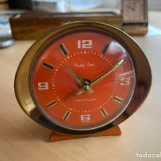Horloges à remontage manuel: VINTAGE BABY BEN WESTCLOX 1960'S ORANGE. Lote 259910860