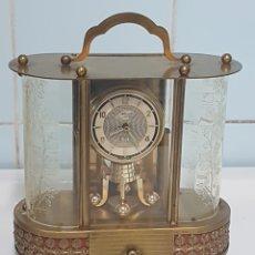 Relojes de carga manual: RELOJ SCHMIID SCHLENKER 1940 CON CAJA MUSICA FUNCIONA VER VIDEO. Lote 259924850