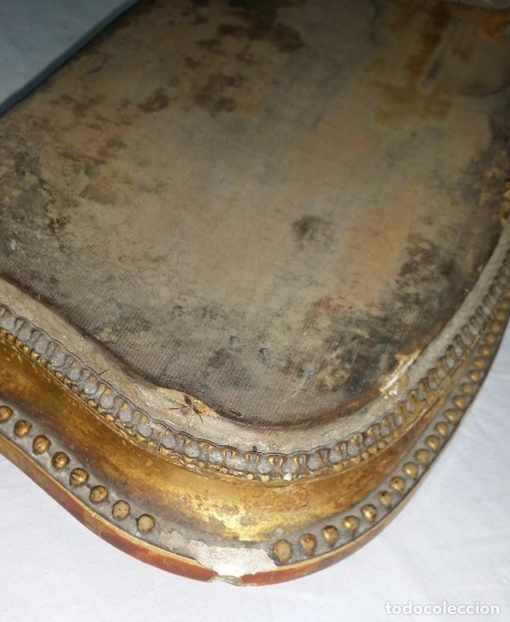 Relojes de carga manual: Fantástico reloj de sobremesa -muy antiguo- en bronce, calamina y peanas de madera - Foto 53 - 260282865