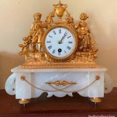 Relojes de carga manual: RELOJ DE SOBREMESA PARIS DE CUERDA REVISADO Y PUESTO A PUNTO POR GERMAN RELOJEROS TLF 952253043. Lote 260372570