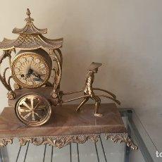 Relojes de carga manual: BONITO RELOJ DE LLAVE, SOBREMESA, PERFECTO. Lote 261172430