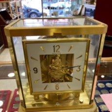 Relojes de carga manual: RELOJ ATMOSFÉRICO JAGER LE COUTRE, EN PERFECTO ESTADO. Lote 262367360