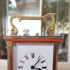 Relojes de carga manual: ANTIGUO Y PRECIOSO RELOJ DE CARRUAJE. Lote 262463225